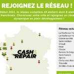 infographie franchise cash and repair réparation mobile